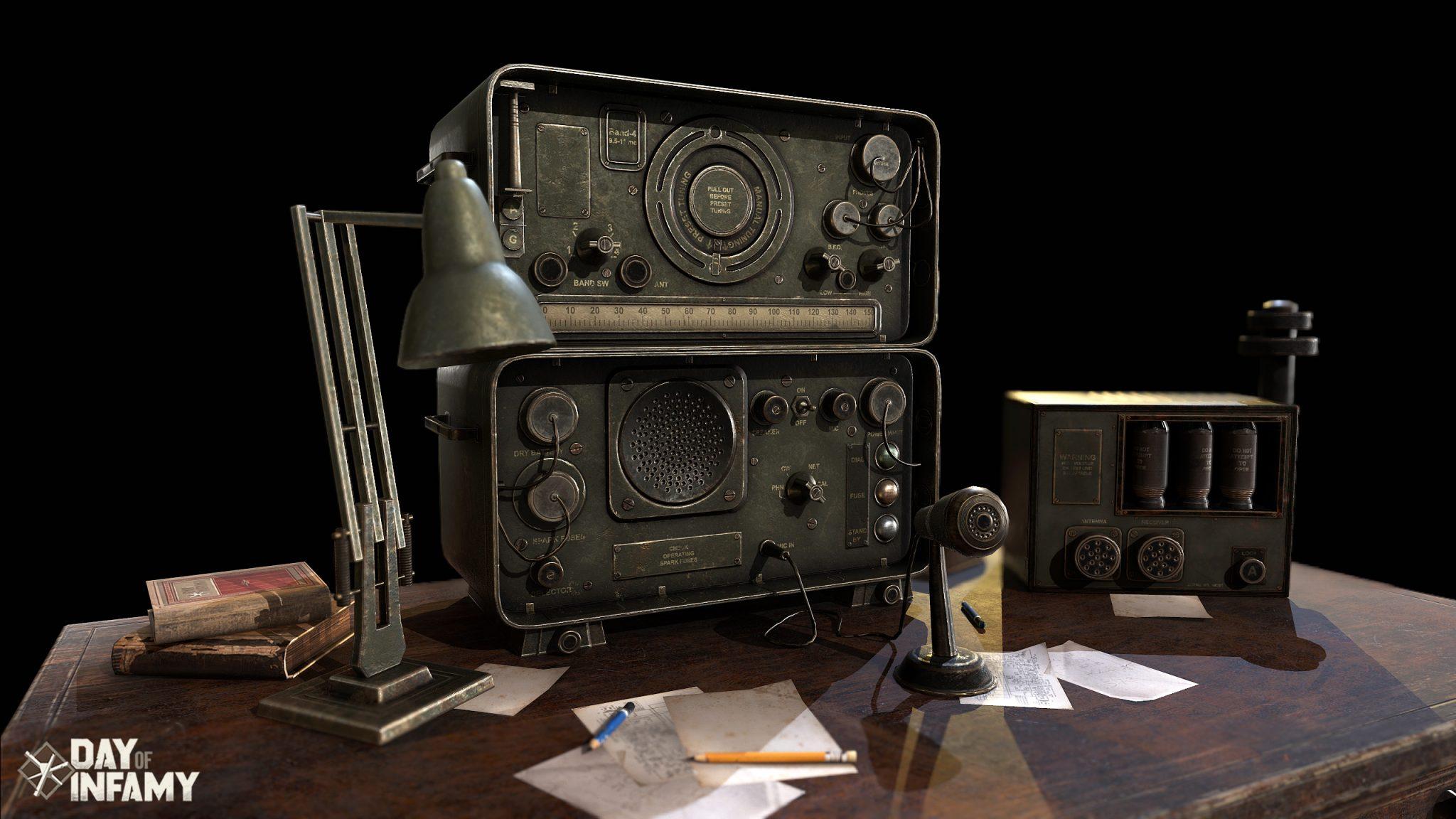 WWII American Radio